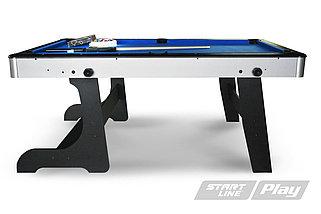 Бильярдный стол складной Компакт 6фт Пул (с комплектом), фото 3