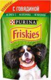 Friskies с Говядиной в подливе Влажный корм для собак, 85г