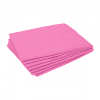 Простыни Ч 200*80см 20шт одноразовые розовые нарезанные