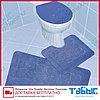 Коврик для ванной комнаты Табыс однотонный 55х85 2-ка, фото 5