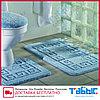 Коврик для ванной комнаты Табыс однотонный 55х85 2-ка, фото 2