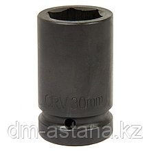 """Головка торцевая глубокая шестигранная 1"""", 30 мм, для мультипликатора МАСТАК 005-80630"""