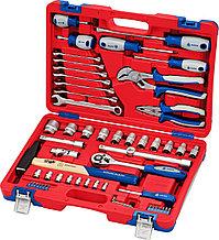 Набор инструментов универсальный, 58 предметов МАСТАК 01-058C