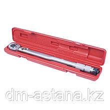 """Ключ динамометрический 1/2"""", 28-210 Нм, в пластиковом кейсе МАСТАК 012-40210C"""