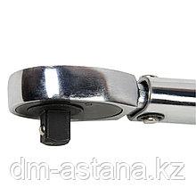 """Ключ динамометрический 1/2"""", 70-350 Нм, в пластиковом кейсе  МАСТАК 012-40350C"""