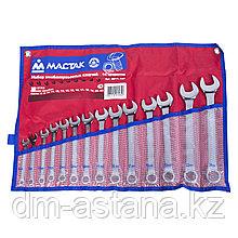 Набор комбинированных ключей, 8-24 мм, 14 предметов МАСТАК 0211-14P