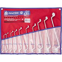 Набор накидных ключей, 6-32 мм, 10 предметов МАСТАК 0231-10P