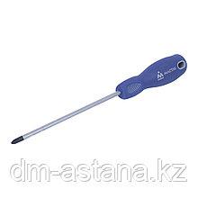 Отвертка крестовая Phillips 2х150 мм, держатель МАСТАК 041-02150H