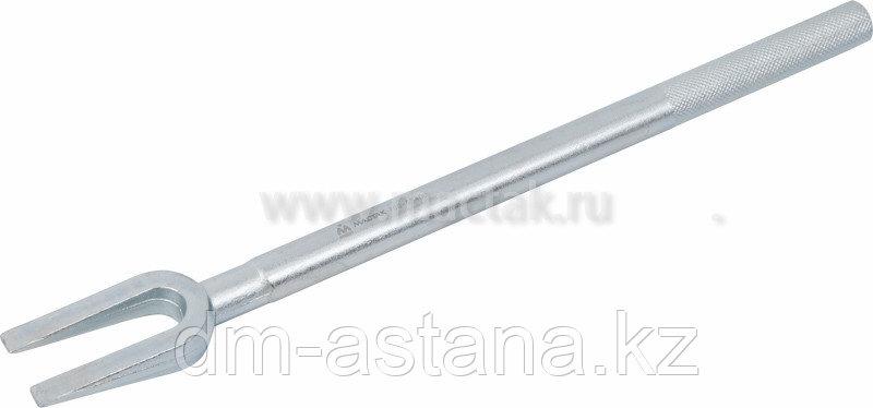 Съемник шаровых опор и рулевых наконечников, зев 18 мм, вилка МАСТАК 100-55400