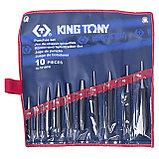 Набор выколоток, бородков, кернеров, 10 предметов KING TONY 1010PR, фото 2