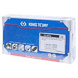 Набор вставок (бит) 10 мм, TORX, Т20-Т55, 15 предметов KING TONY 1015PQ, фото 5