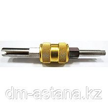 Ключ для золотников системы кондиционирования, фреон R134a МАСТАК 105-50001