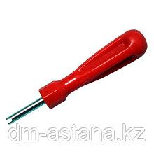 Отвертка для снятия / установки золотников ниппелей МАСТАК 109-41002