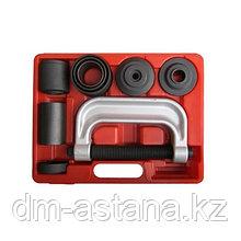 Набор оправок для монтажа и демонтажа сайлентблоков, кейс, 10 предметов МАСТАК 110-20010C