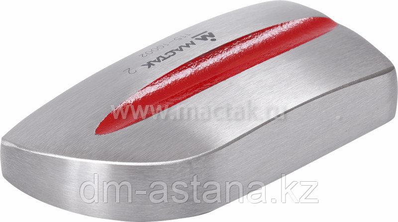 Поддержка (наковальня) литая №2, с продольным профилем  МАСТАК 115-10002
