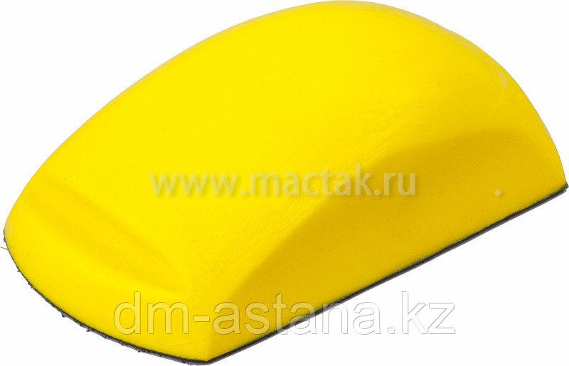Шлифблок прямоугольный, 150 мм, липучка МАСТАК 118-10150