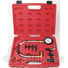 Компрессометр дизельный, 0-70 атм, кейс, комплект адаптеров МАСТАК 120-11009C