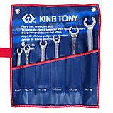 Набор разрезных ключей, 8-22 мм, 6 предметов KING TONY 1306MR, фото 2
