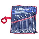 Набор накидных ключей, 6-23 мм, 8 предметов KING TONY 1708MR, фото 2