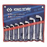 Набор торцевых L-образных ключей, 8-19 мм, 8 предметов KING TONY 1808MR, фото 2