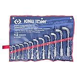 Набор торцевых L-образных ключей, 8-24 мм, 12 предметов KING TONY 1812MR, фото 2