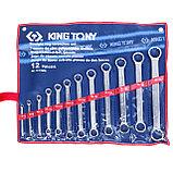 Набор накидных ключей, 6-32 мм 12 предметов KING TONY 1C12MR, фото 2
