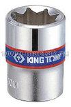 "Головка торцевая восьмигранная 1/4"", 10 мм KING TONY 231010M, фото 2"