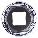 "Головка торцевая глубокая шестигранная 3/8"", 19 мм KING TONY 323519M, фото 4"