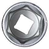 "Головка торцевая глубокая шестигранная 1/2"", 27 мм KING TONY 423527M, фото 3"