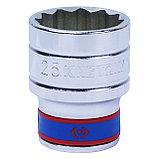 "Головка торцевая стандартная двенадцатигранная 1/2"", 25 мм KING TONY 433025M, фото 2"