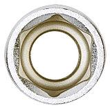 "Головка торцевая стандартная шестигранная 1/2"", 16 мм KING TONY 433516M, фото 4"