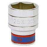 "Головка торцевая стандартная шестигранная 1/2"", 25 мм KING TONY 433525M, фото 2"