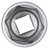 "Головка торцевая стандартная шестигранная 1/2"", 27 мм KING TONY 433527M, фото 4"