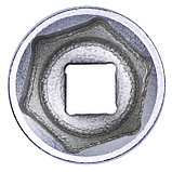 "Головка торцевая стандартная шестигранная 1/2"", 30 мм KING TONY 433530M, фото 4"