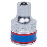 "Головка торцевая TORX Е-стандарт 1/2"", E10, L = 37 мм KING TONY 437510M, фото 2"