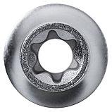 "Головка торцевая TORX Е-стандарт 1/2"", E12, L = 37 мм KING TONY 437512M, фото 3"