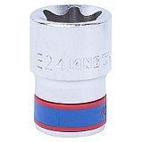 "Головка торцевая TORX Е-стандарт 1/2"", E24, L = 39 мм KING TONY 437524M, фото 2"