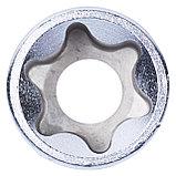 "Головка торцевая TORX Е-стандарт 1/2"", E24, L = 39 мм KING TONY 437524M, фото 4"
