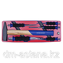 Набор ударно-режущего инструмента, ложемент, 6 предметов МАСТАК 5-9006