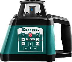 Ротационный лазерный нивелир RL600 KRAFTOOL 34600, сверхъяркий, 600м, IP54, точн. 0,2 мм/м, фото 3