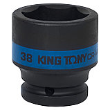 "Головка торцевая ударная шестигранная 3/4"", 38 мм KING TONY 653538M, фото 2"