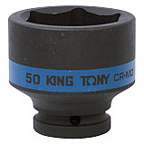"Головка торцевая ударная шестигранная 3/4"", 50 мм KING TONY 653550M, фото 2"