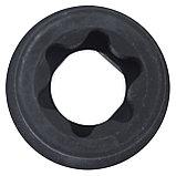 "Головка торцевая ударная TORX Е-стандарт 3/4"", E30, L = 56 мм KING TONY 657530M, фото 4"