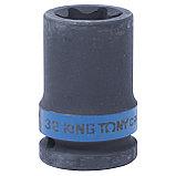 "Головка торцевая ударная TORX Е-стандарт 3/4"", E32, L = 56 мм KING TONY 657532M, фото 2"