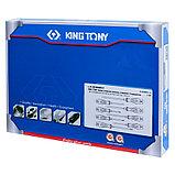 Набор отверток, ложемент, 10 предметов KING TONY 9-31110MRV, фото 4
