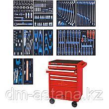 Набор инструментов в красной тележке, 235 предметов KING TONY 934-235MRV