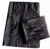 Пакеты для сбора мед.отходов. Класс А-черные. Размер 700х800мм