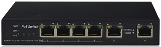 Коммутатор NetVICE SWPU-GE0402