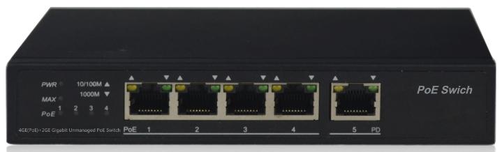 Коммутатор NetVICE SWPU-GE0401.pd