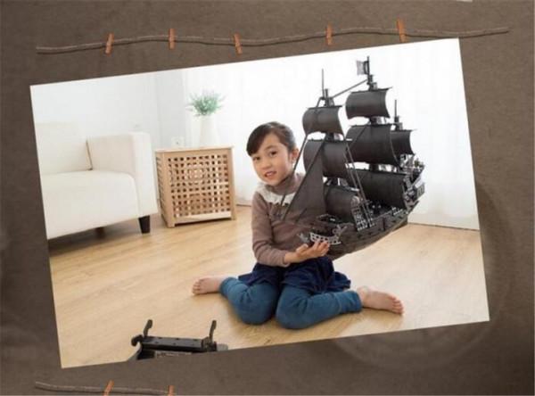 Корабль 3Д-пазл Месть королевы Анны - фото 2